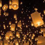 12 idées lumineuses de décoration de mariage - Eclairage