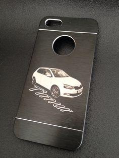 #Fotogravur auf Handy-Case Aluminium