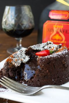 Decadent Molten Chocolate Lava Cake recipe