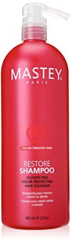 Mastey Restore Sulfate Free Repair Shampoo 32 Fluid Ounce >>> Read more reviews of the product by visiting the link on the image.
