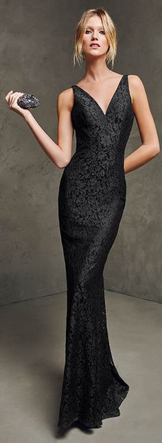 Pronovias 2016 women fashion outfit clothing style apparel @roressclothes closet ideas