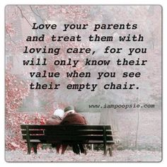 Love your parents and treat them with loving care | Ephesians 6:2