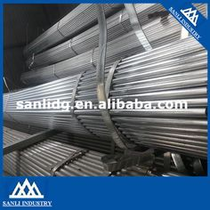 steel pipes steel sheets steel coils: Good quality ERW Hot dipped galvanized round tube ...