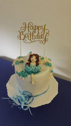 Geburtstagstorte Elfe Birthday Cake, Desserts, Baking Cupcakes, Birthday Cake Toppers, Pies, Tailgate Desserts, Birthday Cakes, Deserts, Postres