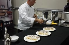 Chef John Placko Creating Wonderfull Dishes With The Bellini Kitchen Master  By Cedarlane. Here He