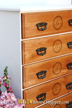 love this chest of drawers make over