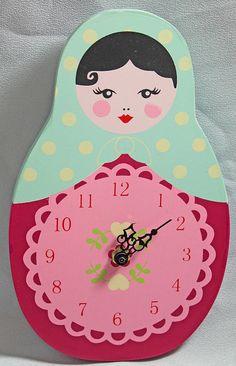 Russian Doll Clock