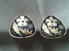 Stunning and Stylish Damascene Clip on by GrammiesCupboard on Etsy, $5.00