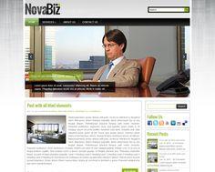 NovaBiz WordPress theme