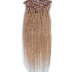 Emosa 7Pcs Clip-in Remy 100% Human Hair Extensions #27 Full Head 20 inch by Emosa. $26.00