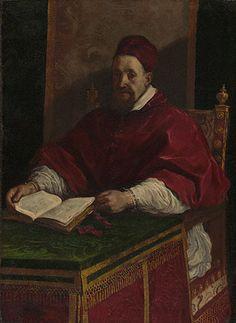 Pope Gregory XV, Guercino Italian, about 1622 - 1623. Paul Getty Museum   #TuscanyAgriturismoGiratola