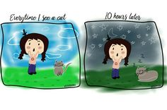 #relatable #cats #catlady #catslover #kittens #me