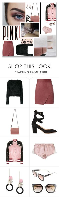 """// pink_black \\ [contest]"" by violavintage ❤ liked on Polyvore featuring Isabel Marant, Michelle Mason, Prada, Valentino, Marni and Tom Ford"