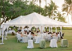 LOVE tented receptions!