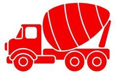 cement truck *vector*