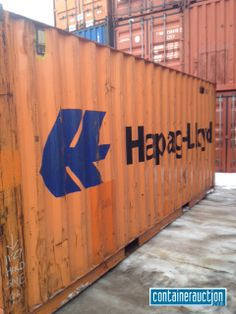 Containership shipping container resting at the depot in for Shipping containers for sale in minnesota