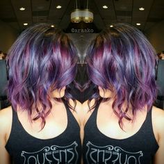 I like to do fashion colors but make them look wearable/natural. This galaxy color could work for me. Maybe add a tad of green.