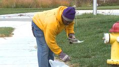 The Omaha Police Department helped clean up a north Omaha neighborhood Saturday morning.