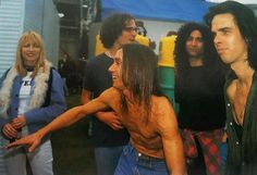 Big Day Out 1993 Kim Gordon, Iggy Pop and Nick Cave❤️