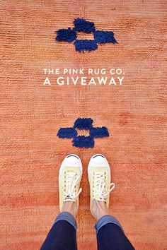 a giveaway from the pink rug co. / @sfgirlbybay