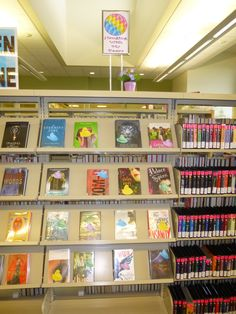 Spring 2015 display at the Temecula Public Library Teen Zone