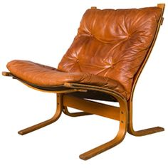 Ingmar Relling Leather Siesta Chair