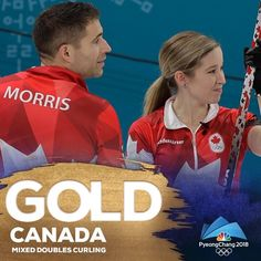Canada wins the gold medal in Mixed Doubles Curling Nbc Olympics, Tokyo Olympics, 2018 Winter Olympic Games, Winter Games, Tara Lipinski, Pyeongchang 2018 Winter Olympics, Johnny Weir, Curling