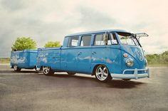 VW Volkswagen camper bus campervan kombi trailer