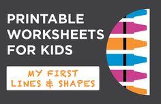 Printable Worksheets for Kids Worksheets For Kids, Printable Worksheets, Printables, Kids Line, Babe, Chart, Shapes, Education, Kids Worksheets