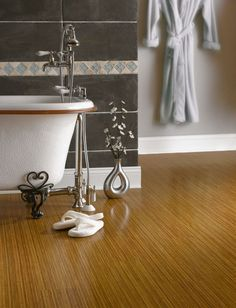 Luxe Plank luxury vinyl flooring in Empire Bamboo