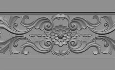 Carving wood textures By Hugo Beyer