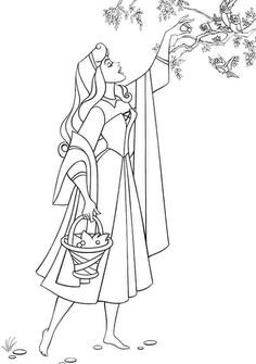 Sleeping Beauty Sketch | Disney Concept Art and Sketches ...