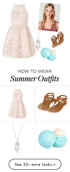 """""""cute summer outfit"""" by alizabell on Polyvore featuring Topshop, Lipsy, River Island and Lucky Brand"""