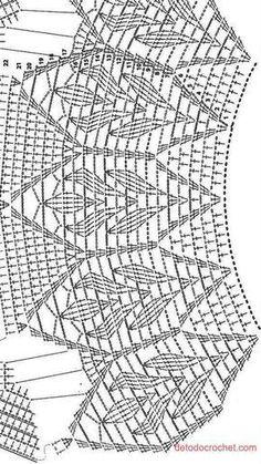 Gilet Crochet, Crochet Shawl, Crochet Stitches, Crochet Lace, Crochet Doilies, Free Crochet, Lace Dress Pattern, Crochet Cardigan Pattern, Bolero Pattern
