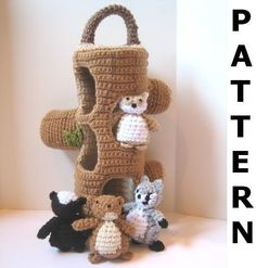 Now that there are kids who will appreciate this, I'm starting to get the urge to expand my crochet port follow, CraftyAnna on etsy.com is so amazing with her designs for kids