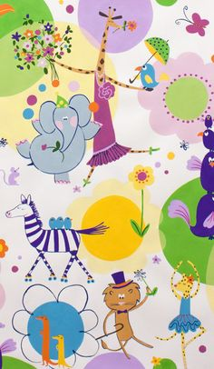 NEW ZOO REVIEW Elephant Giraffe Animals  by spiceberrycottage, $9.95