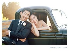 A modern wedding at Thomas Fogarty Winery in Woodside, CA : Lisa and Hans