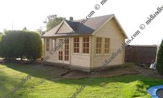 Clockhouse Log Cabin . Cambridgeshire . June 2011