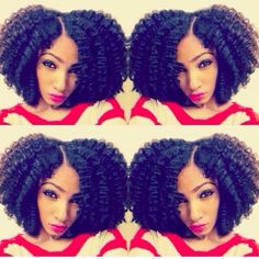 A great twist out! Natural Hair