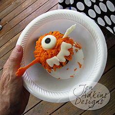 Kindergeburtstagsidee: Monsterparty mit Kuchen selbst zusammenstellen