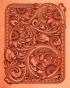 Leather Carving, Leather Engraving, Leather Art, Leather Design, Leather Tooling, Wood Carving, Tooled Leather, Leather Projects, Leather Crafts