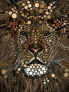 Mosaics Technique - alraheef on deviantART Dot Art Painting, Mandala Painting, Mandala Art, Stone Painting, Mandala Design, Kunst Der Aborigines, Arte Black, Mosaic Artwork, Mandala Rocks