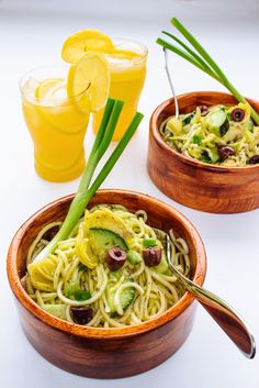Summer Pasta(less) Salad - Primal Palate