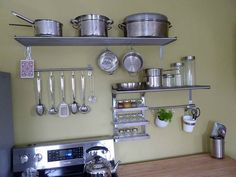 Kitchen Shelving and Accessories
