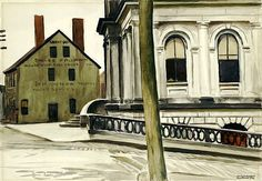 Edward Hopper/ Custom House, Portland (1927)