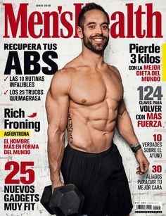 Men's Health España, Health Fitness, Fitness Tips For Men, Mens Fitness, Rich Froning Jr, Nutrition Drinks, Post Workout Food, Gym Quote, Senior Fitness