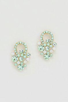 Pretty Mint Earrings