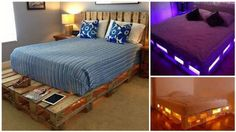 How to Build a Glowing LED Pallet Bed