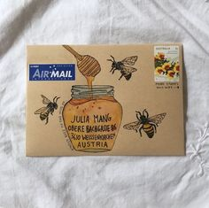 Honey bee invitation
