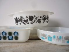 Collection of Pyrex Dishes